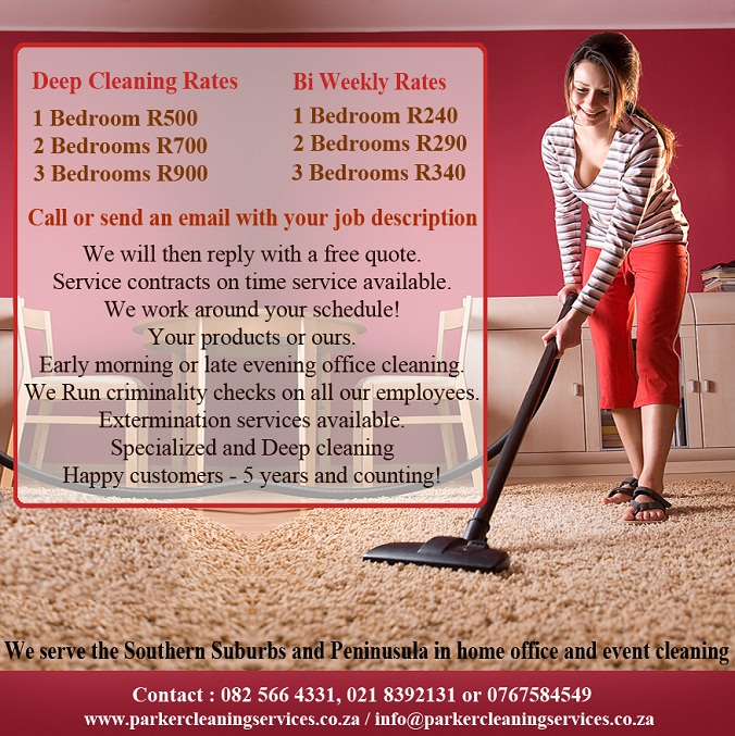 benifits of parker cleaning services